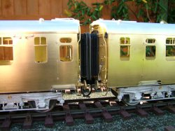 Southern bulleid coaches in construction