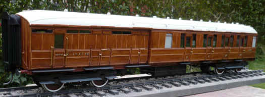 Gresley Teak Diagram D.127 Composite Brake